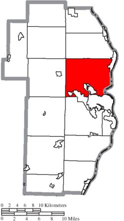 Jefferson County Ohio Township Map Island Creek Township, Jefferson County, Ohio   Wikipedia