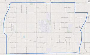 Northridge, Los Angeles - Northridge neighborhood as delineated by the Los Angeles Times