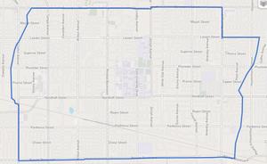 Northridge, Los Angeles - Northridge neighborhood as delineated by the Los Angeles Times