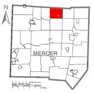 Sandy Creek Township, Mercer County, Pennsylvania Township in Pennsylvania, United States