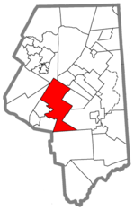 Location in Lackawanna County