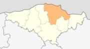 Map of Silistra municipality (Silistra Province).png