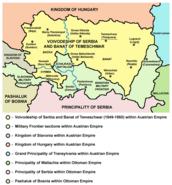 Vojvodina map