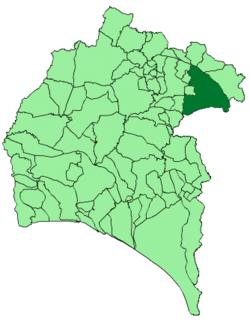 Zufre municipality of Spain