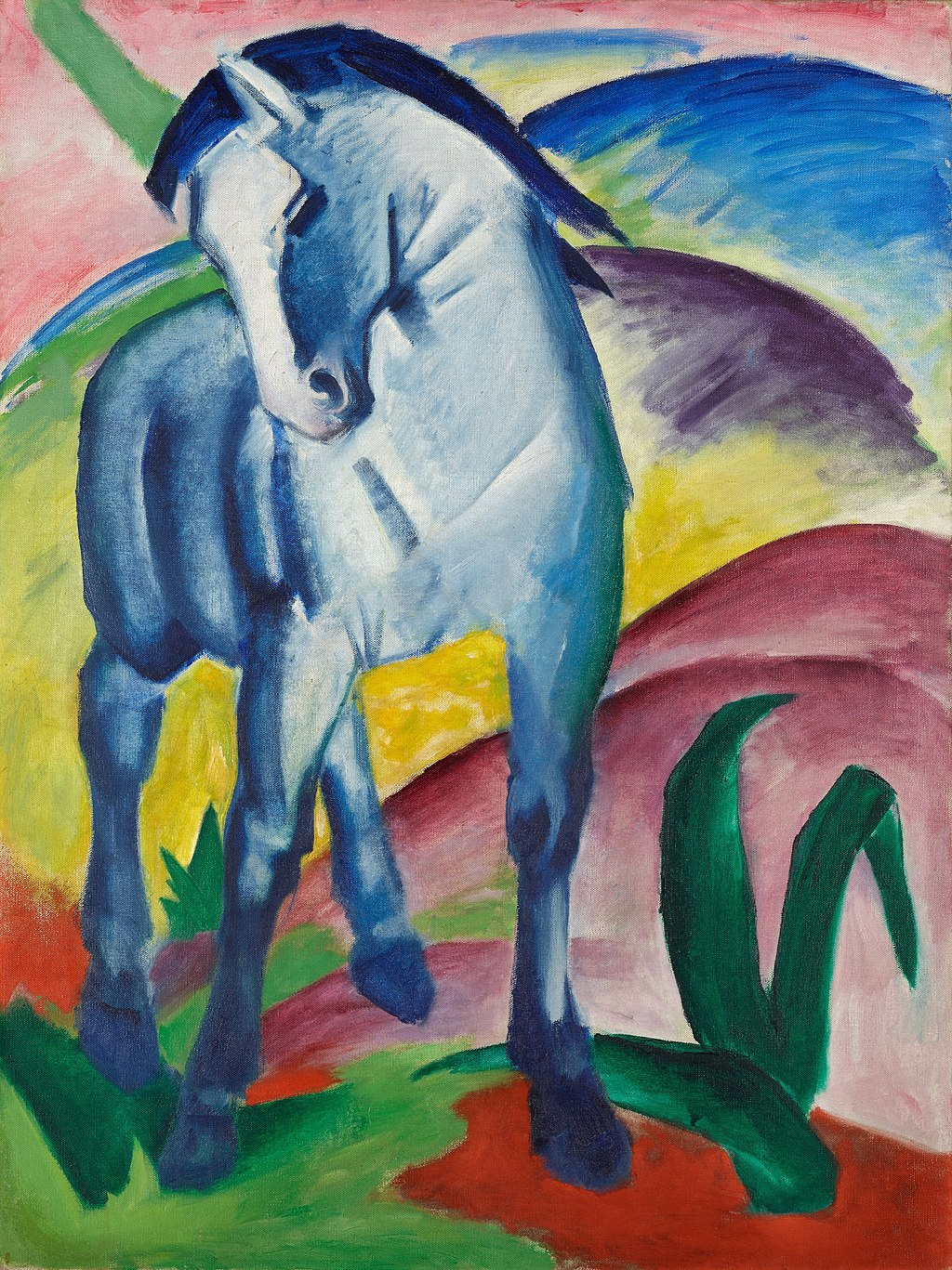 Marc, Franz - Blue Horse I - Google Art Project