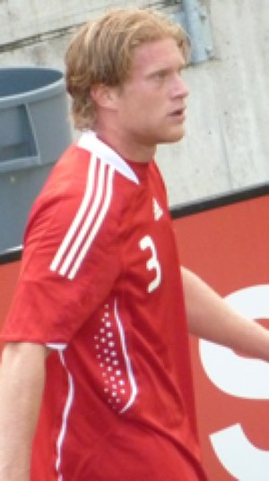 Marcel de Jong - De Jong playing for Canada in 2010.