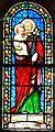 Marcillac-Saint-Quentin (Saint-Quentin) église vitrail chapelle nord.JPG