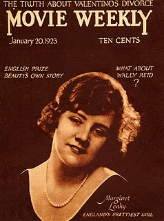 Margaret Leahy English actress
