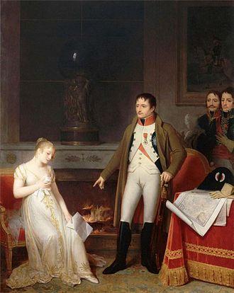 Marguerite Gérard - The Clemency of Napoleon (1806)