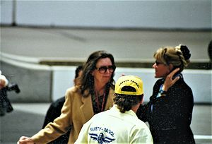 Mari Hulman George - Mari Hulman George at the 1997 Indianapolis 500