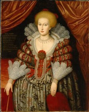 Wedding of Gustav II Adolf and Maria Eleonora - Maria Eleonora of Brandenburg in 1619, the year before the wedding.