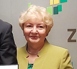 Maria Ilnicka-Mądry Polish politician, university teacher of medical sciences and from 2018, chairman of the West Pomeranian Regional Assembly