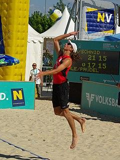 Mariusz Prudel Polish beach volleyball player