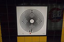 Mark Wallinger Labyrinth 235 - South Kensington.jpg