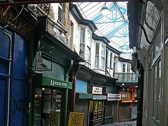 High Street, Newport, Wales - Market Arcade