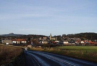Markinch town in Fife, United Kindom
