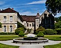 Marmagne Abtei Fontenay Brunnen 2.jpg