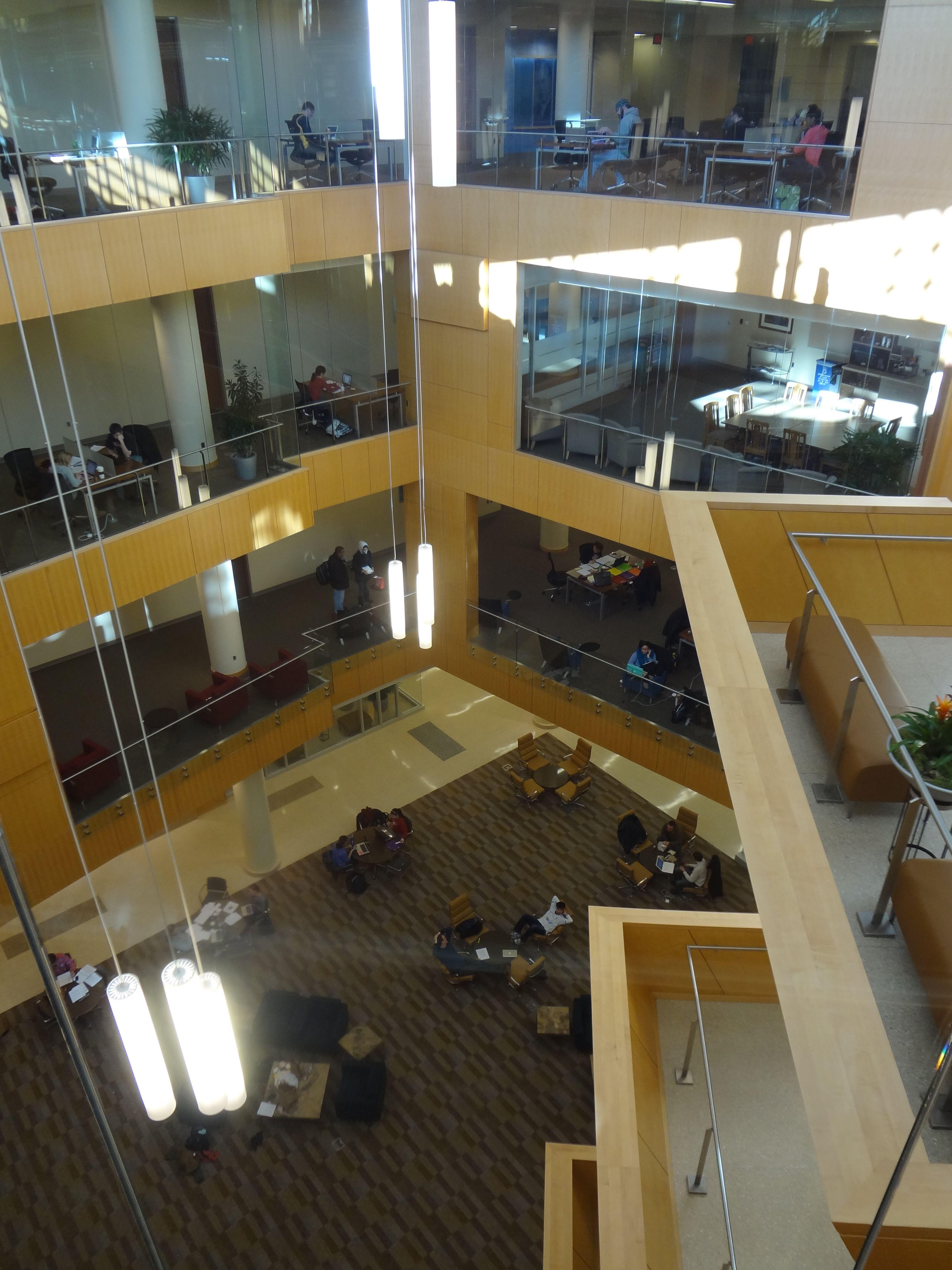 File Marquette University Law School Fourth Floor Jpg