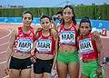 Marruecos en los relevos 4x400 en los Juegos del Mediterráneo 2018.jpg