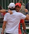 Marruevas win. Pablo Cuevas & David Marrero. (20028989602).jpg