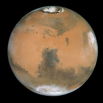 Glossary of astronomy - Image: Mars and Syrtis Major GPN 2000 000923
