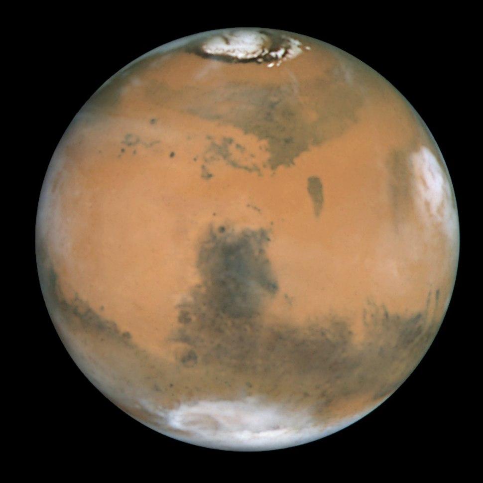 Mars and Syrtis Major - GPN-2000-000923