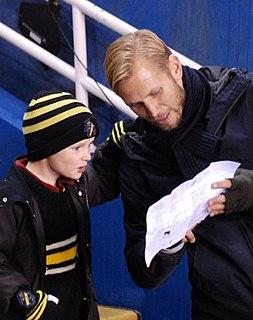 Martin Åslund Swedish footballer