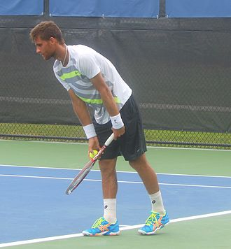 Martin Kližan - Kližan at the 2014 Winston-Salem Open