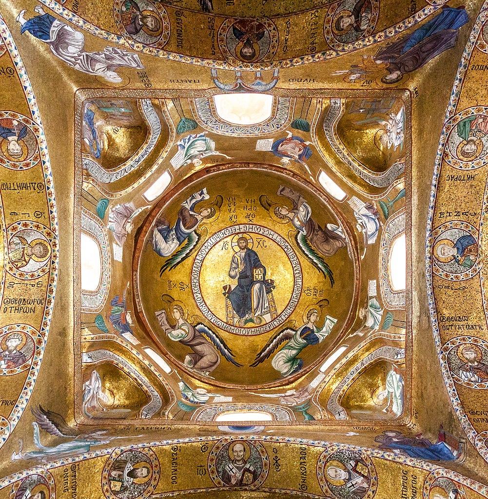 La Martorana ou église Santa Maria dell'Ammiraglio à Palerme - Photo de Matthias Süßen