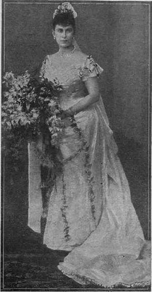 Wedding dress of Princess Mary of Teck