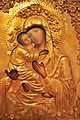 Maryhill Museum - Vladimir Mother of God (late 19th century Russian icon) 01.jpg