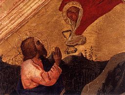 Masaccio - Christ in the Garden of Gethsemane (detail) - WGA14212