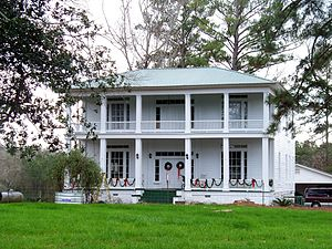 Magnolia, Alabama - The Mask House (built c. 1861) in Magnolia
