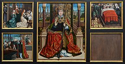 Master of the Legend of Saint Lucy: Altarpiece of St. Nicholas