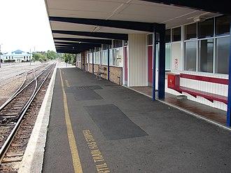 Masterton railway station - Image: Masterton railway station 02