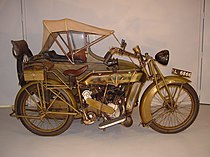 Matchless Type H 1000 cc uit 1923