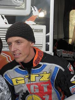 Matej Ferjan Slovenian-Hungarian speedway rider