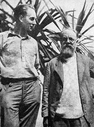 F. W. Murnau - F. W. Murnau with Henri Matisse in Tahiti in 1930.