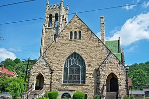 Mayo Memorial United Methodist Church (Paintsville, Kentucky) - Image: Mayo Memorial United Methodist Church