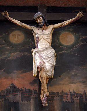 English: Santo Cristo de la Colegiata de San A...