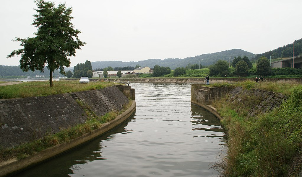 Wanze (Belgium): River Meuse and Mehaigne