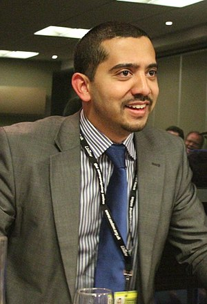 Mehdi Hasan - Hasan at a Labour conference in 2012