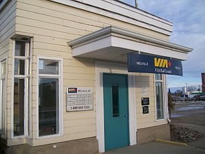 Melville VIA Rail January 2012.JPG