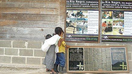 Memorial to the victims of the Rio Negro massacres Memorial Rio Negro.jpg