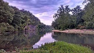Meramec River river in the United States of America
