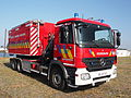 Mercedes Fire engine Brandweer Antwerpen Container Unit pic4.JPG