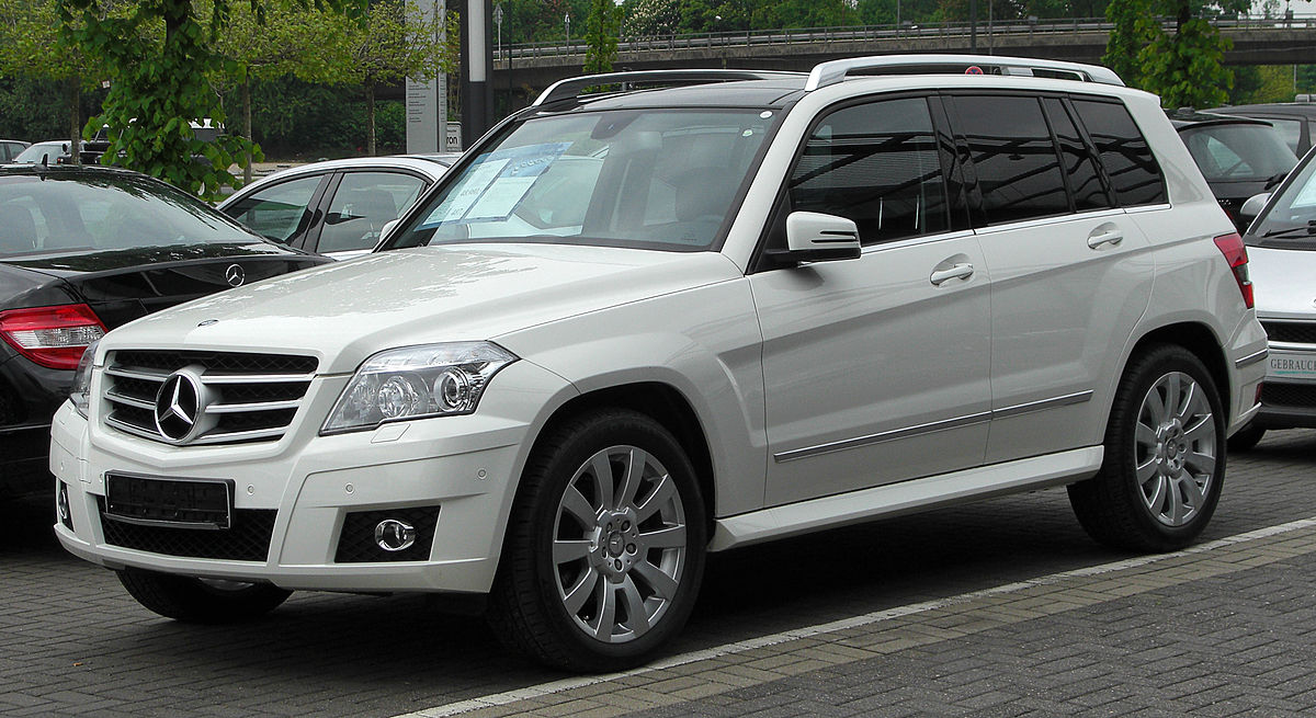 Mercedes benz classe glk wikipedia for Mercedes benz glk 350