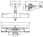 Mercury Senior 3-view L'Aéronautique March,1927.png