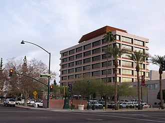 Mesa, Arizona - Mesa City Hall in downtown Mesa
