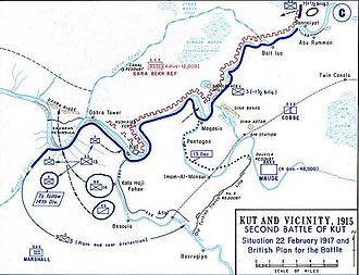 Mesopotamian campaign - 1917, General Maude's Army captures Kut